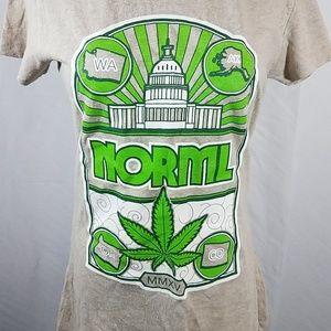 Onno Norml Organic Hemp Blend Tan T Shirt